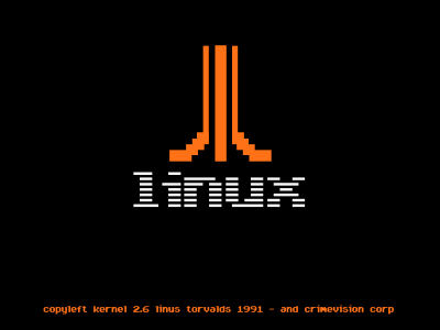 atari boot splash